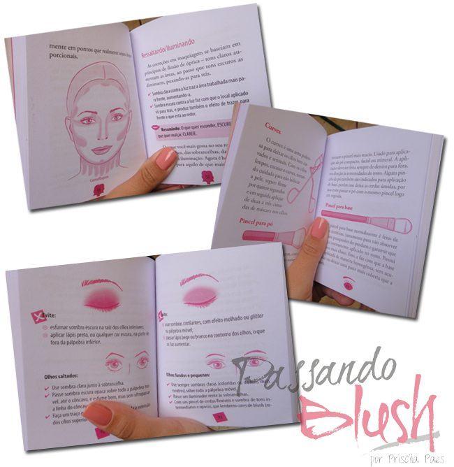 Livro: Pequeno Livro de Maquiagem Paula Espelho