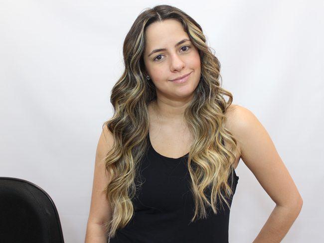Preferência Como ondular o cabelo » Passando Blush AS52