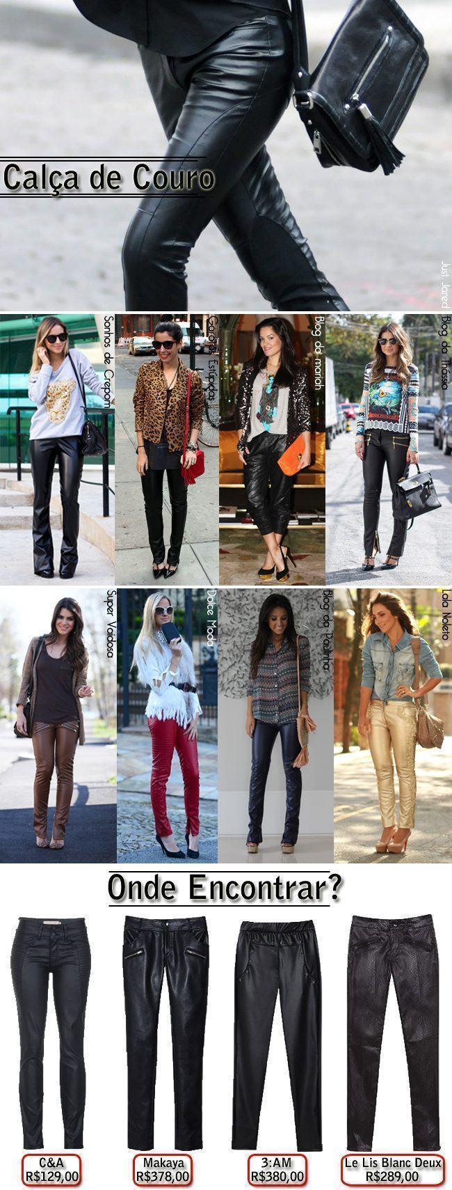 calças de couro copy