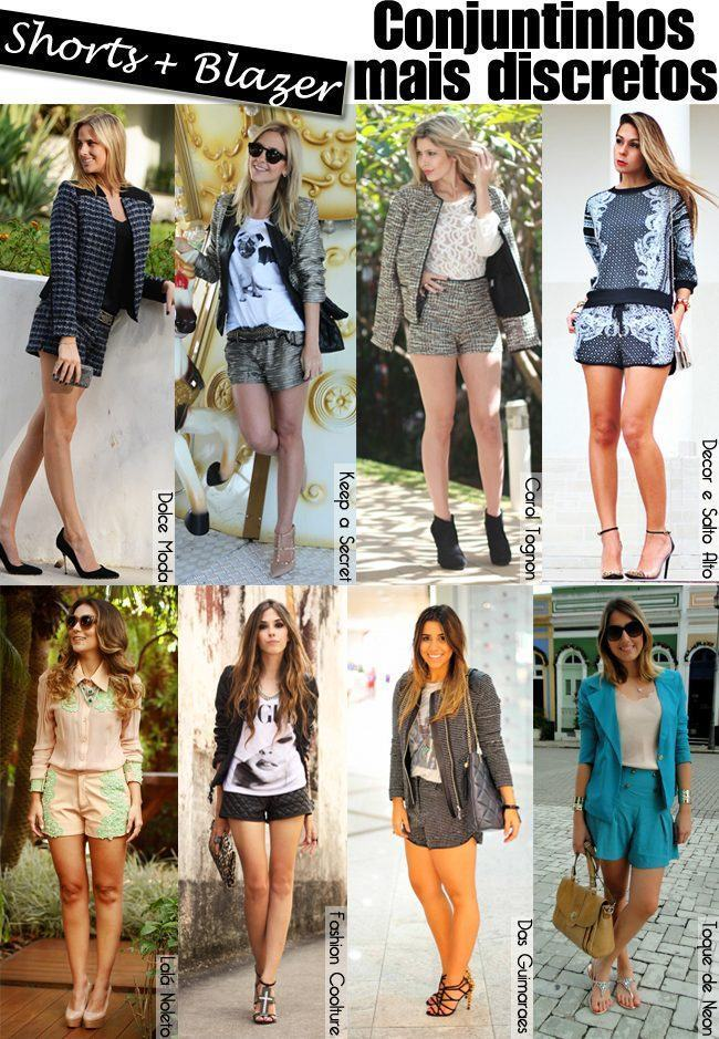 conjuntinho - shorts e blazer copy