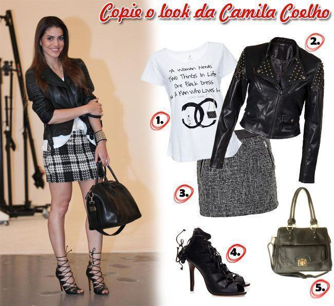 copie o look da Camila Coelho
